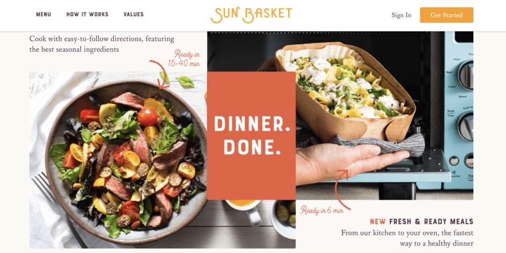 Sun Basket vs Hello Fresh