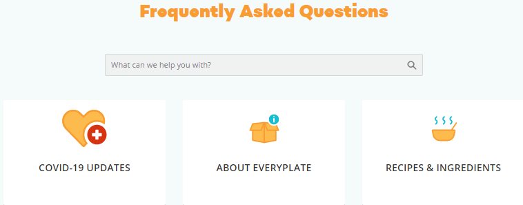 EveryPlate Support Team