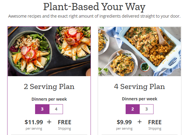 Purple Carrot Pricing Policy