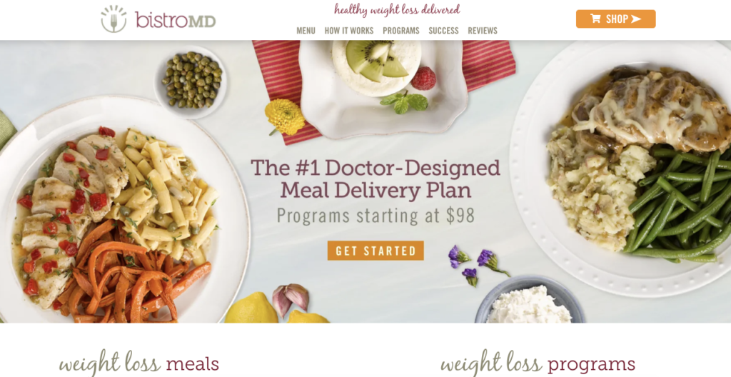 frozen meal delivery service worth your try is BistroMD